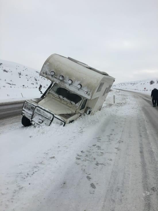 Résultat : bad day !!!! Panne de chauffage + accident