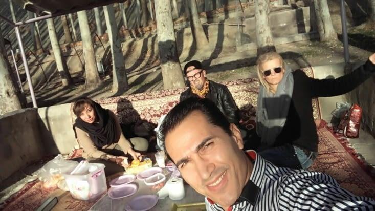 Après midi picnic et barbecue dans les montagnes à 2h de Esfahan