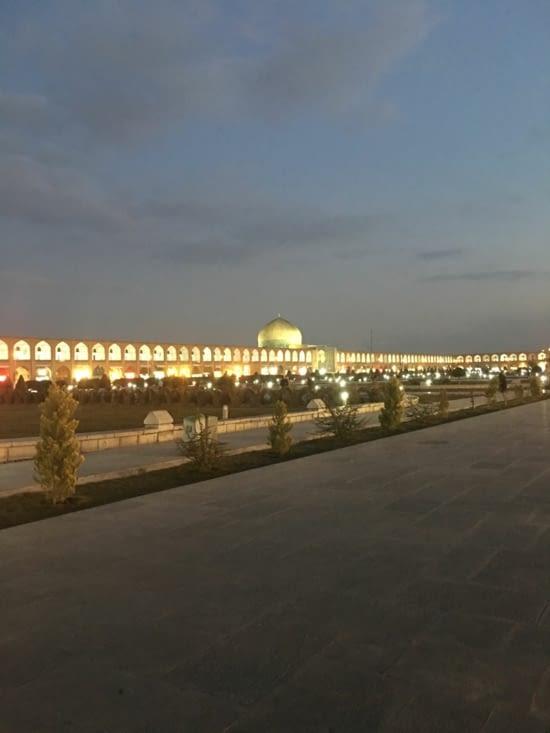 Un des plus grand Square du monde ! : Naqsh-e Jahan Square