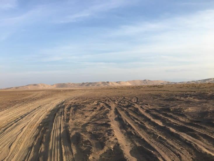 En route vers le désert Dasht E Kavir ...