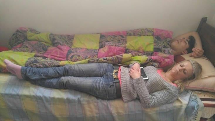 La sieste après de longues ... longues soirées !