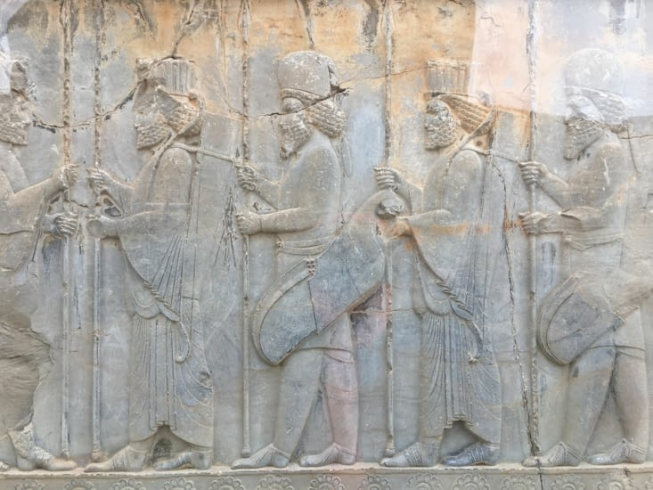 Les fresques conservées du palace
