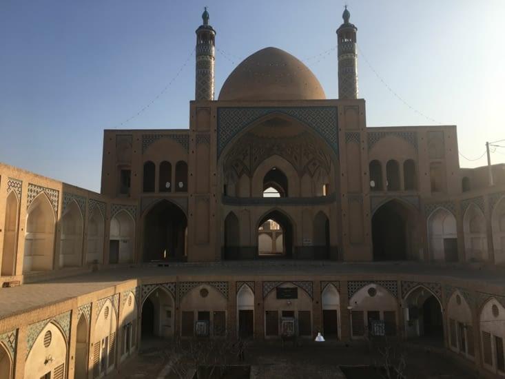 Le quartier historique de Kashan (200 Kms au Sud de Téhéran).