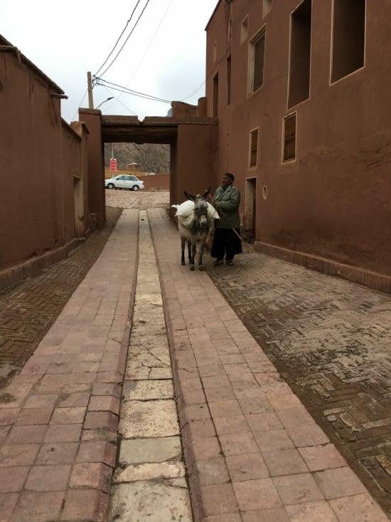 Le village de Abyaneh conserve a l'identique .... prês de Kashan
