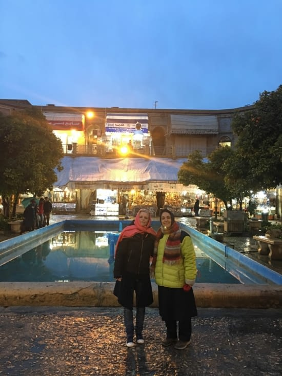 "Avec Bahareh comme guide ""special guest"""