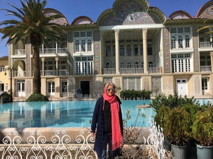Le jardin d'Eran a Shiraz