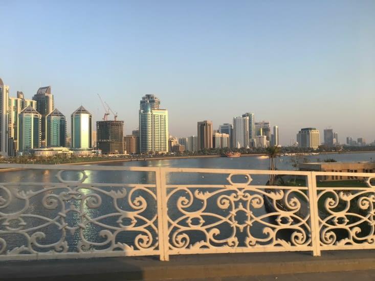 Pas N.Y mais Sharjah à côté de Dubai