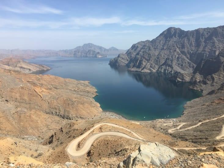 Les Fjords Omanais comme ils les appellent
