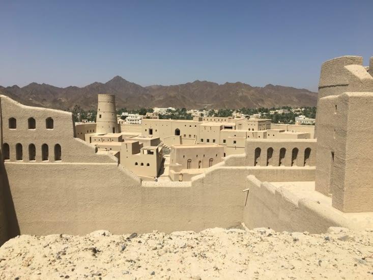 Le fort de Bahla dans le centre nord (600 ans)