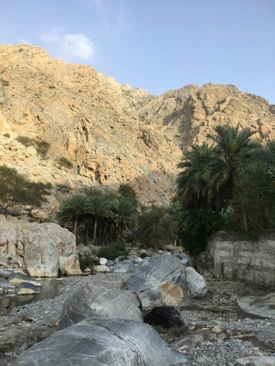 Direction le village de nakhal a une cinquantaine de kms