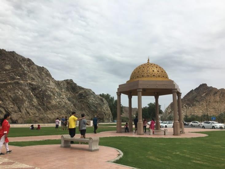 Partout ... des espaces de détente. Lieux préférés des Omanais
