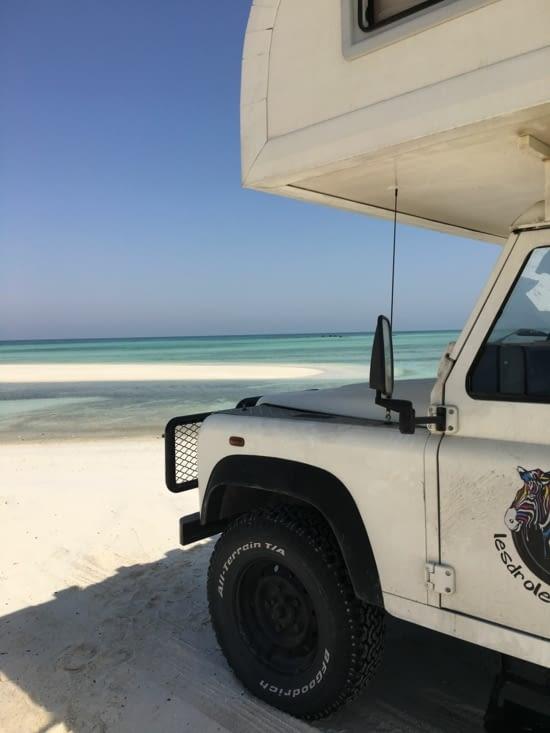 Découverte d'une plage paradisiaque sur l'île de Masirah ...