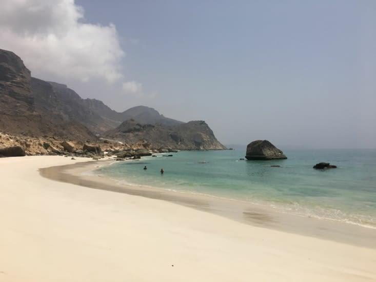 4 jours en sauvage ! Dans le Sud d'Oman a 90 Kms du Yemen