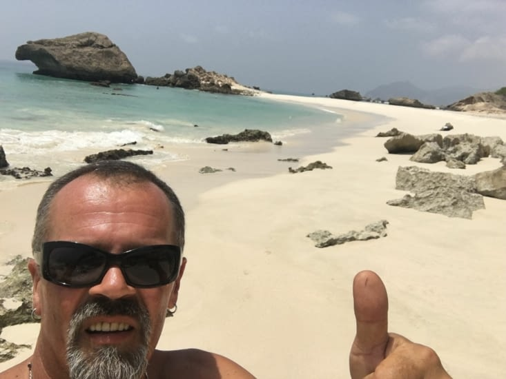 La plage d'Al Fizaya  ... un paradis !