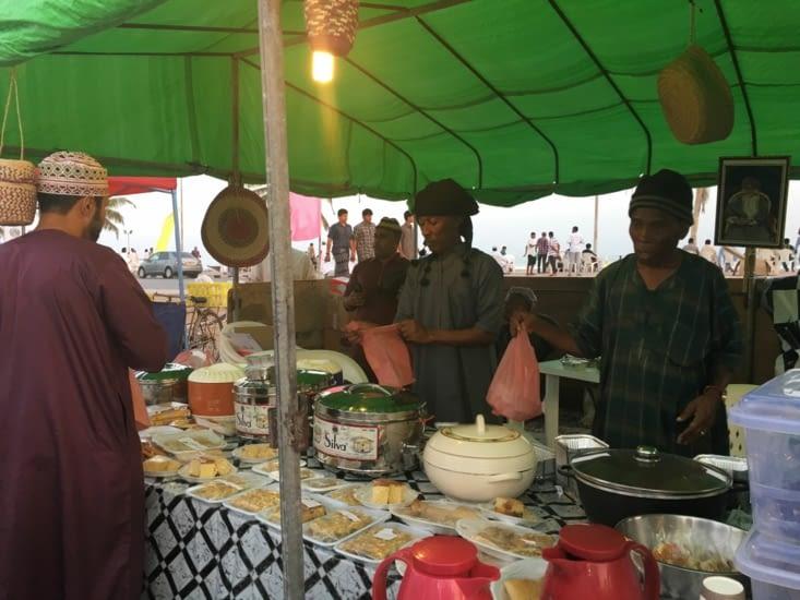 Nourriture locale pour quelques Rials Omanais !