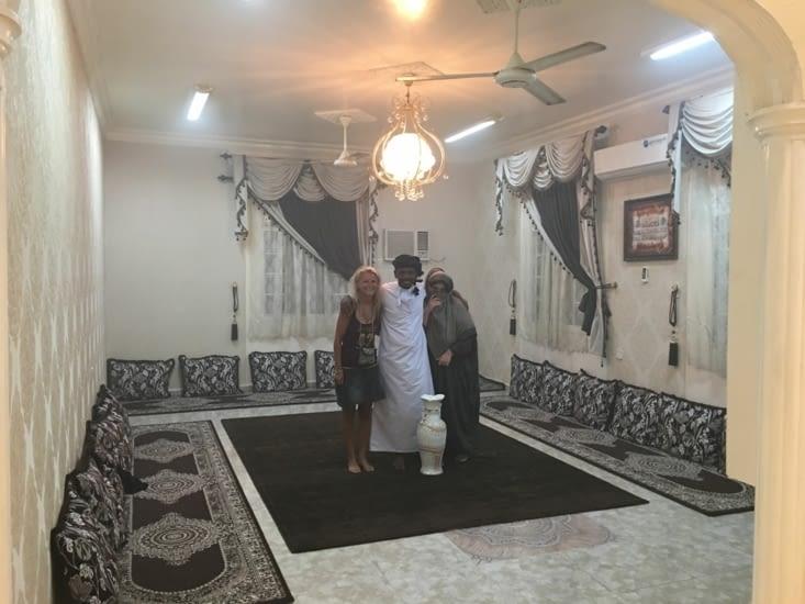 Invitation dans la famille de Mohamad ...