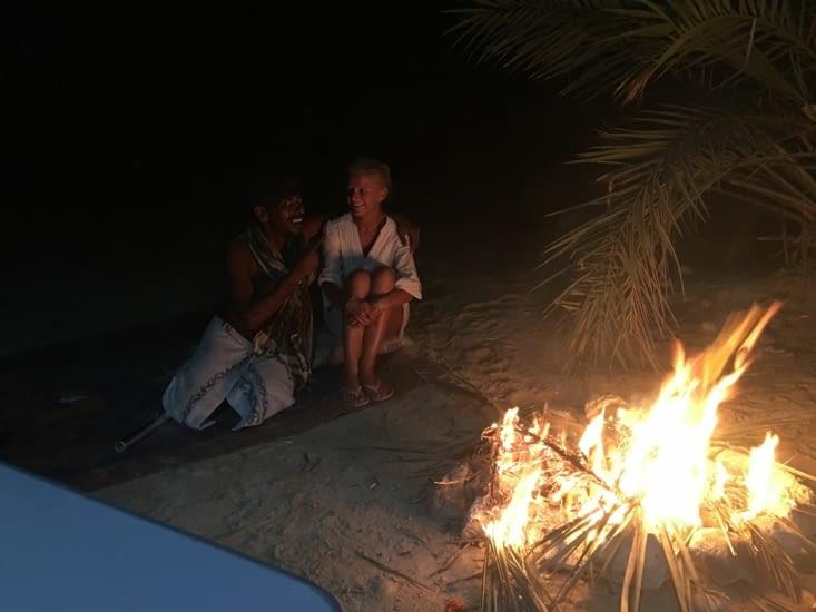 3 jours seul sur la plage de Fizaya avec Mohamad