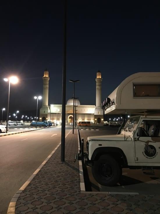 Nuit passée Sur La mosquée de Sur ... calme !