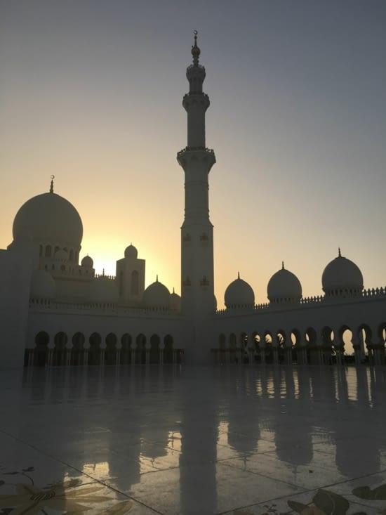 Encore plus beau au coucher de soleil ...