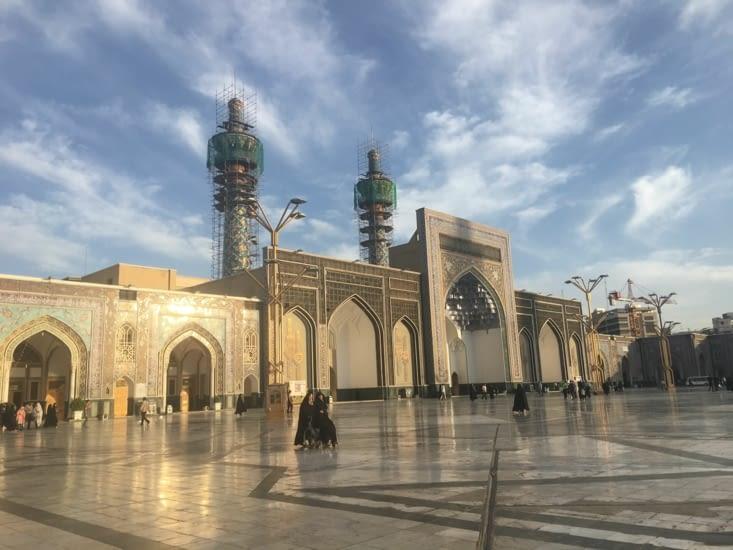 Le complexe d'Iman Reza a Mashhad