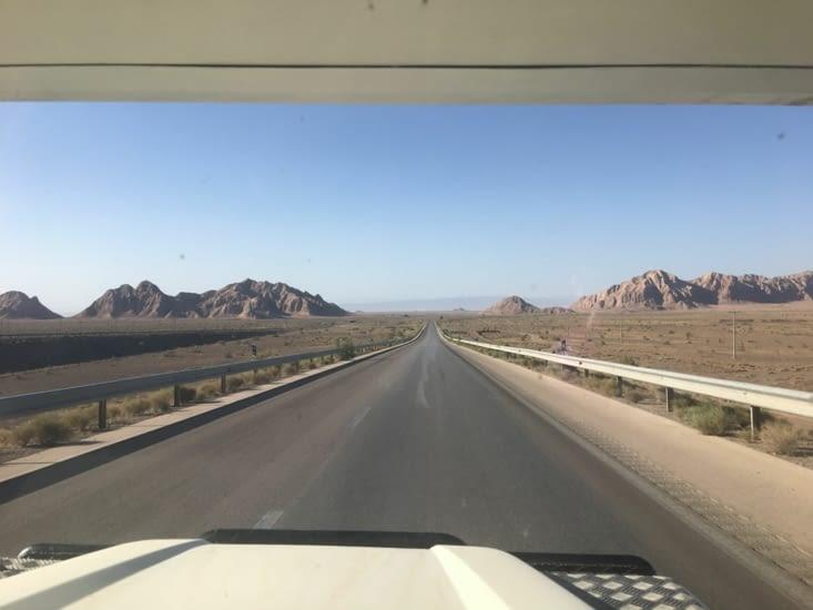 Sur la route de Mashhad