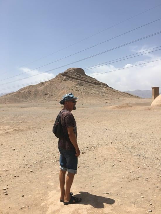 La tour du silence ou Dakma de Yasd