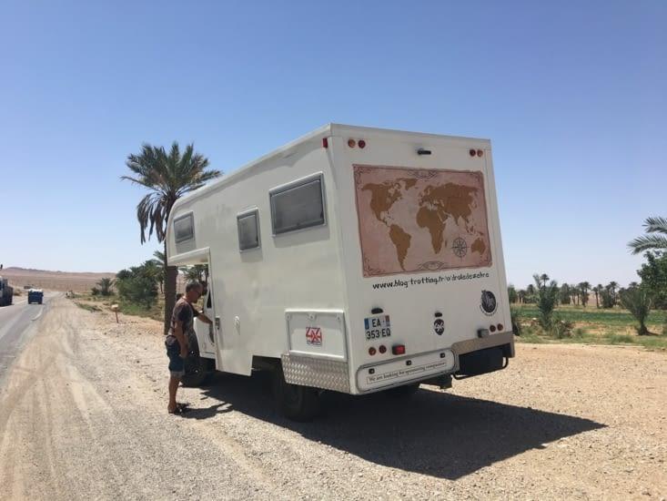 Route de Mashhad : 1500 kms de désert et de montagne !!!