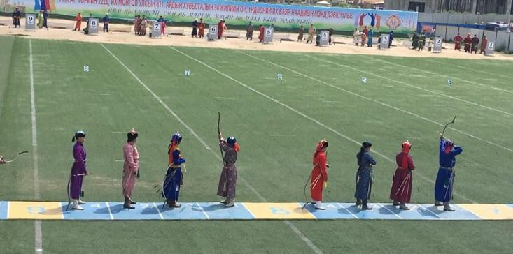 Les archers pour débuter ! Les femmes ...