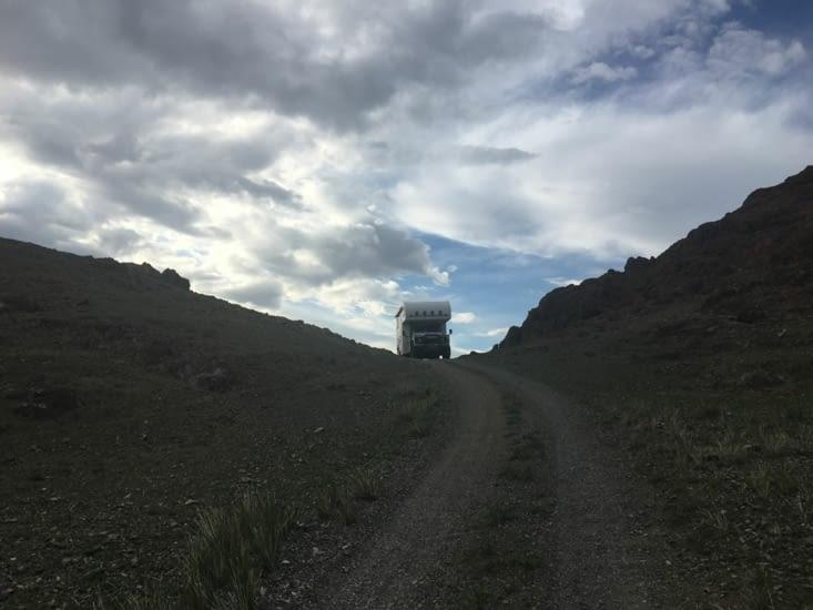 Arrivée sur le lac Tolbo Nuur