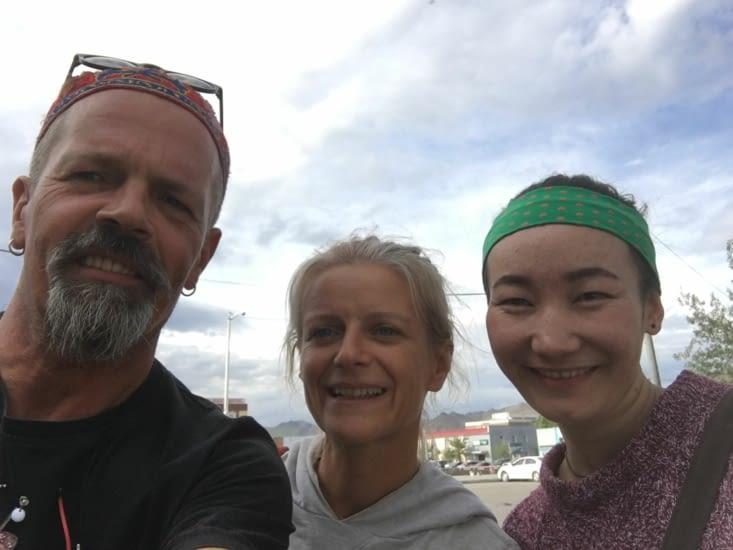 Rencontre avec Ika qui tient un camp et organisé des trips en montagne
