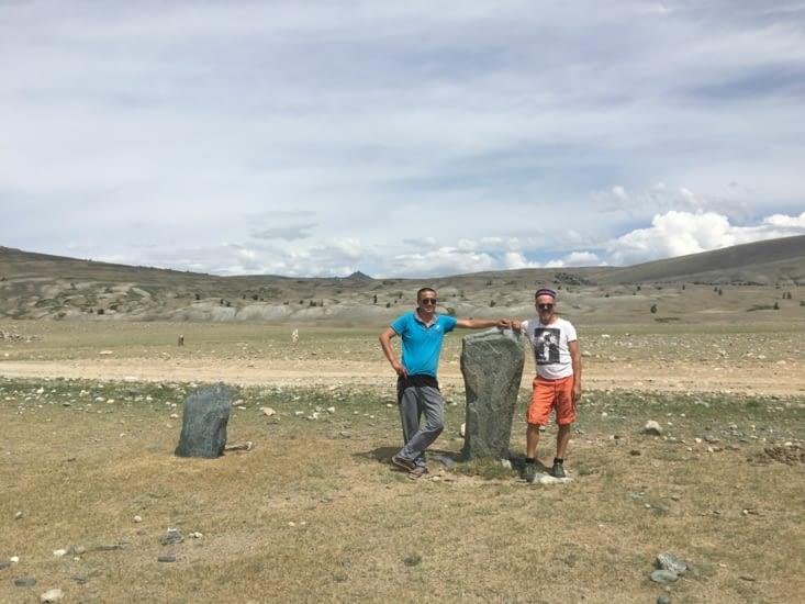 Des tombes Turc qui rappellent leur présence dans un lointain souvenir