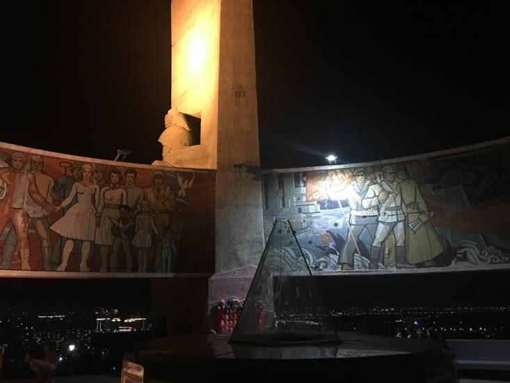 Monument de l'époque Russe sur les hauteurs de U.B