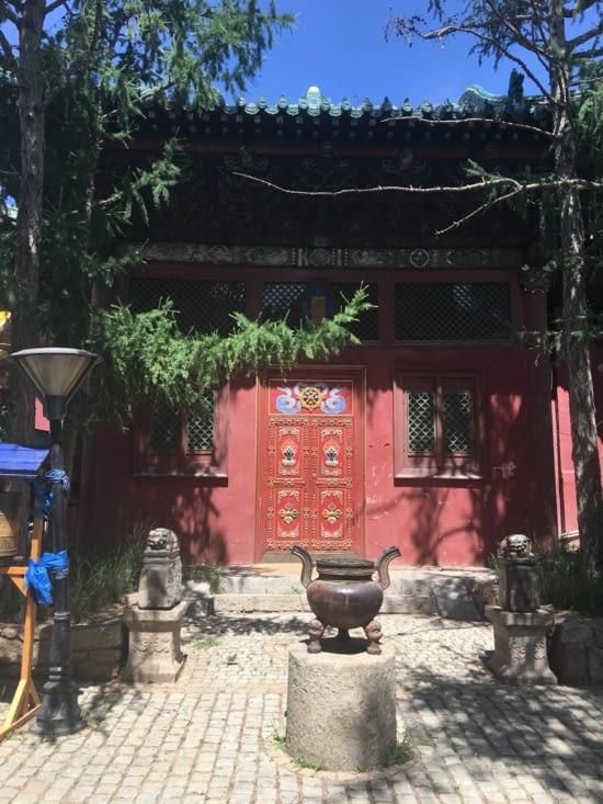 Temple Bouddhiste de Gandam a U.B