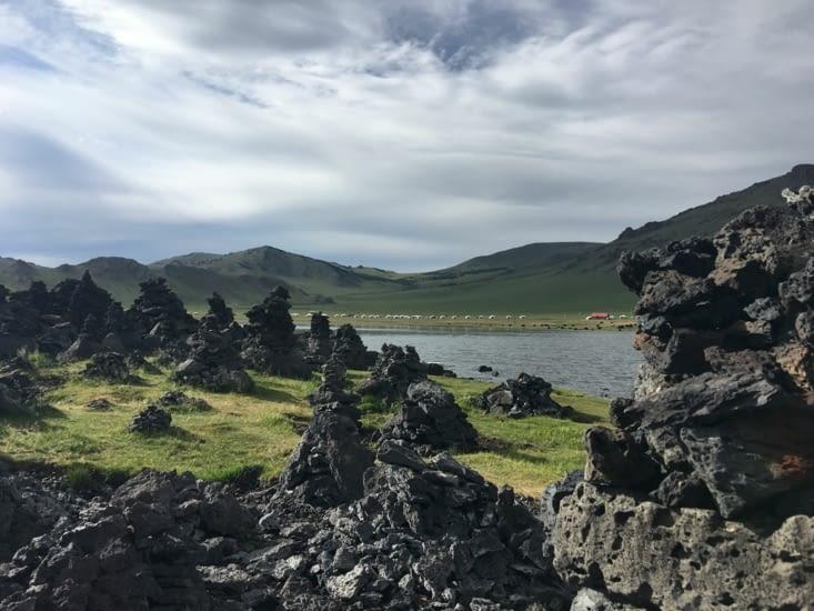 Le lac blanc : Terkhiin Tsagaan