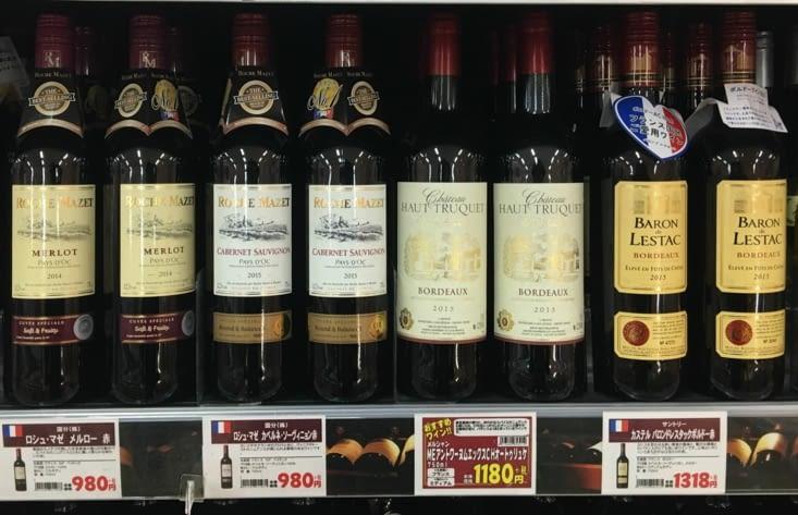 Enfin des étiquettes que l'on comprend : du Bordeaux a 9€ la bouteille