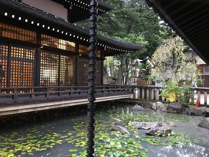 Fin de soirée dans un nouvel Onsen ... Zen !