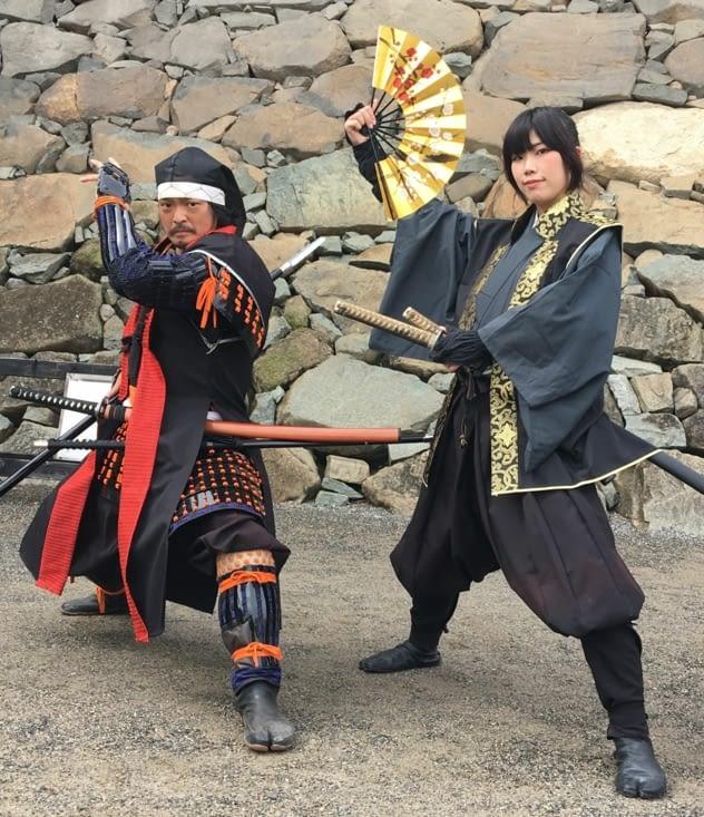 La représentation des Samouraïs !