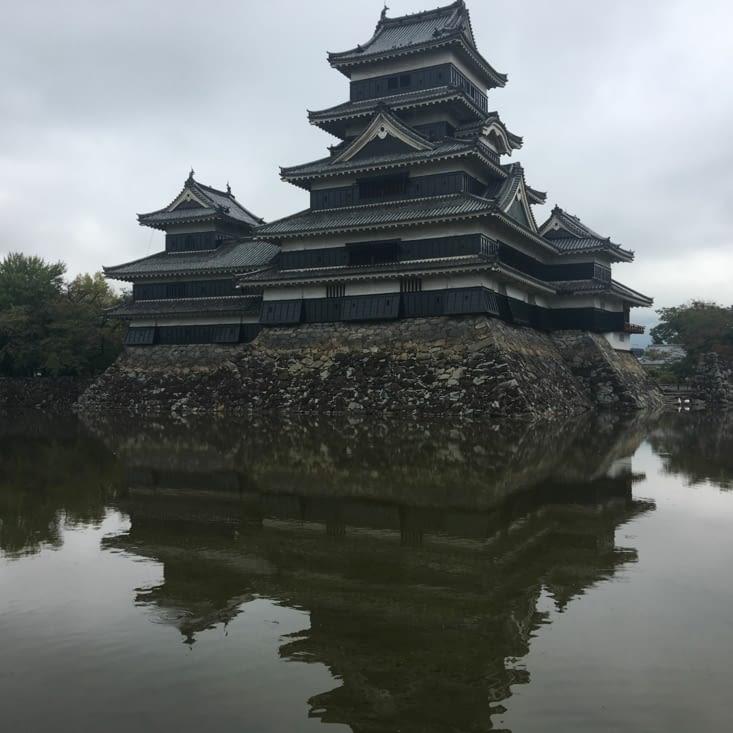 Le plus vieux château fort du Japon à Matsumoto