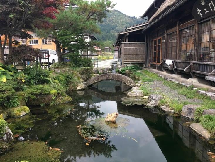 L'eau est partout au Japon ...