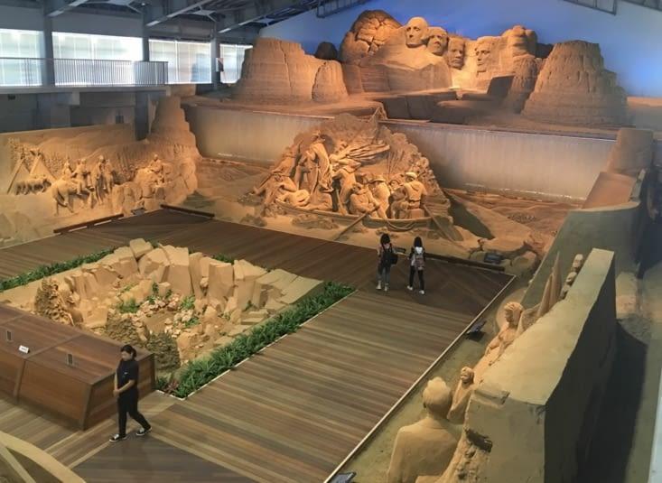 Le Sand Muséum de Tottori