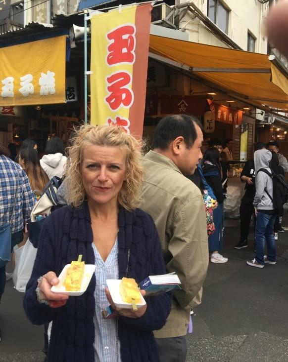 Spécialité locale de Tokyo ...