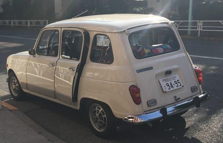 Succès Français : la 4L comme voiture de collection !