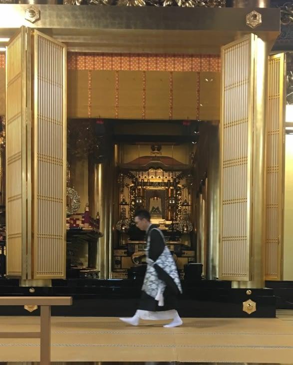 Temple école pour jeunes... futurs moines Bouddhiste