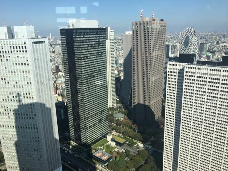Vue de Tokyo du building Gouvernemental ...