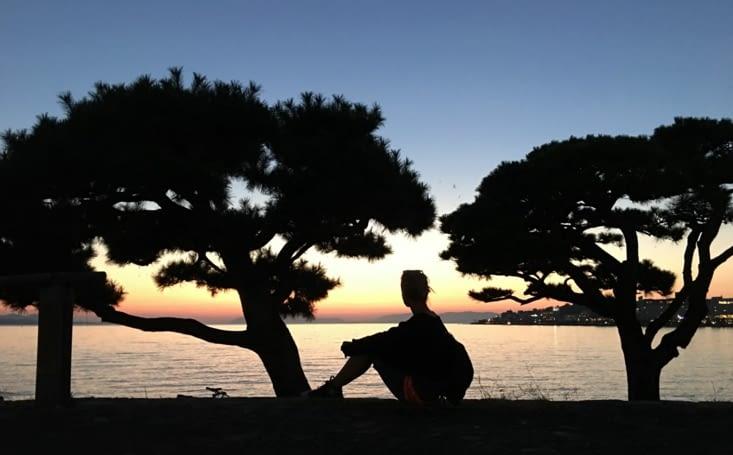 Trop beau ! Lac à Matsue