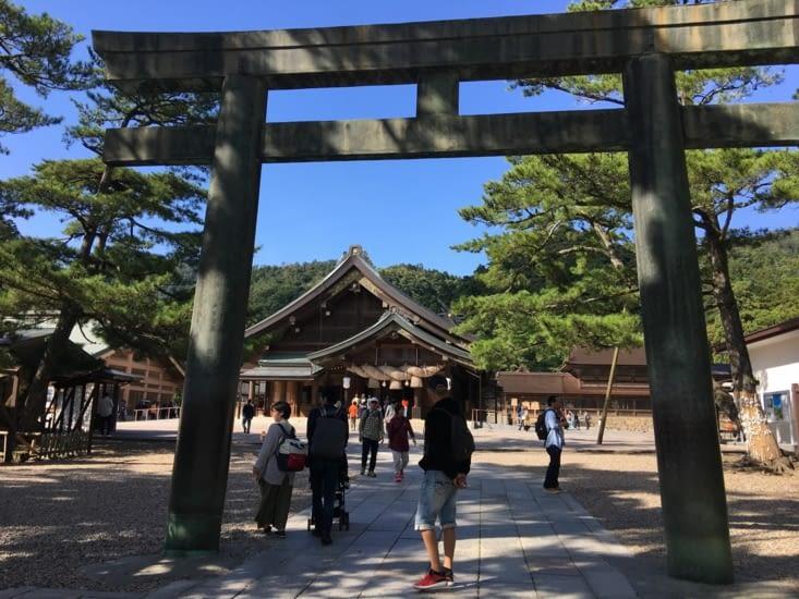 Le Taisha grand shine à Izumo