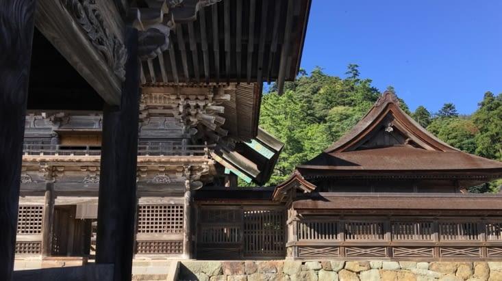 Un des plus vieux temples du Japon