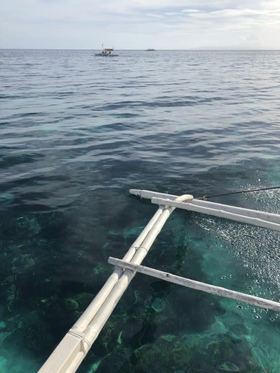 1h de bateau vers les îles vierges .... l'eau cristalline !