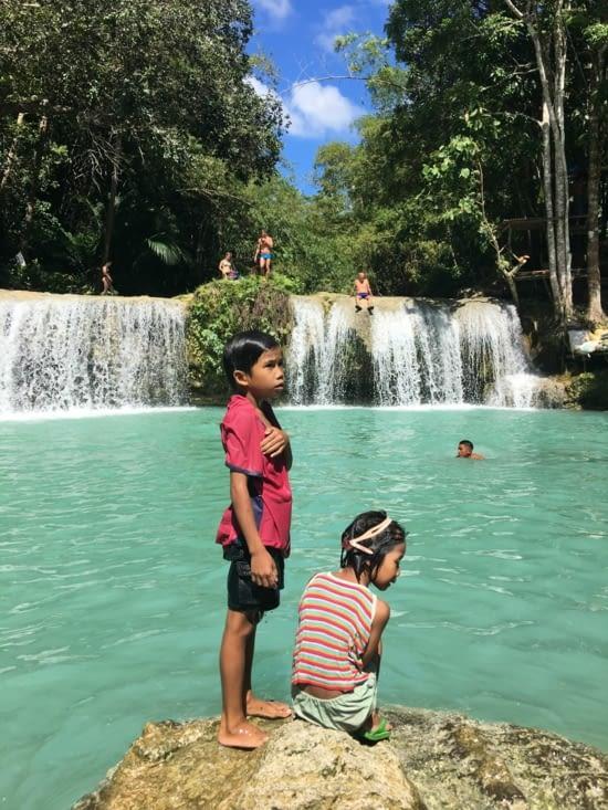 La waterfall de Cambugahay : touristique mais magnifique !