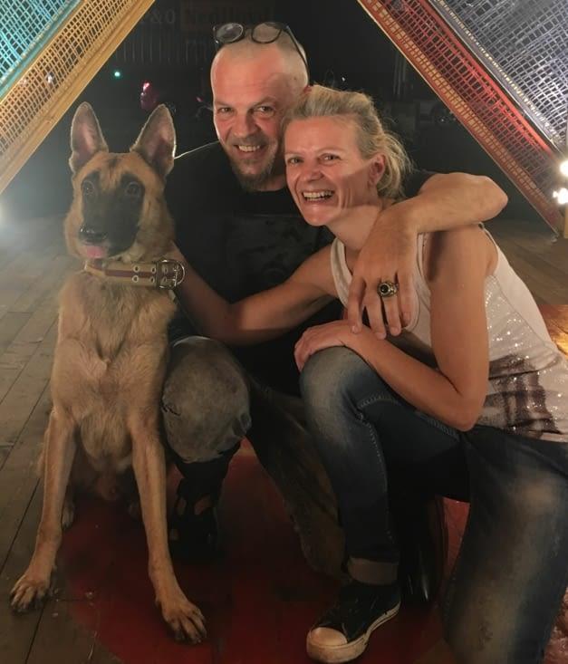 Rencontre avec Elena et ses chiens Brownie et Budy (voir «rencontres»)